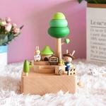 Bunny Farm Music Box
