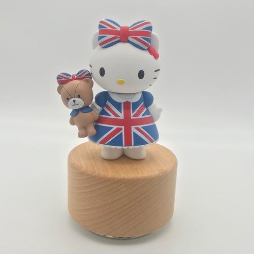 Pop Mart Bear And UK Hello Kitty