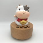 Fortune Cow Music Box