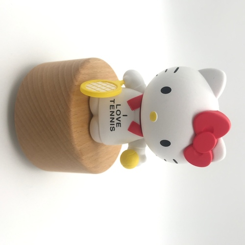 Pop Mart I Love Tennis Hello Kitty Music Box
