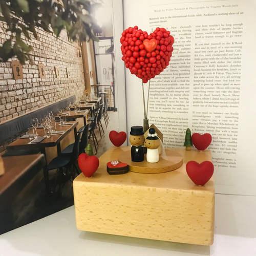 Red Heart Shape Balloon Wedding