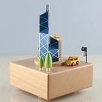 Hong Kong Cityscape Music Box