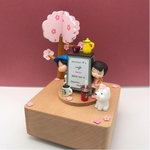 Cafe Couple Music Box