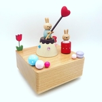 Pocky Love Rabbit Music Box