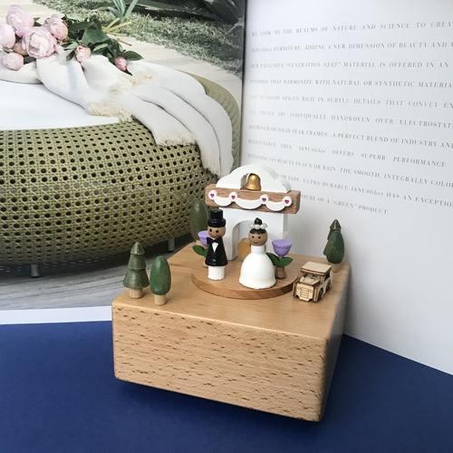 Wedding Door Music Box