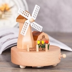 Windmill Music Box
