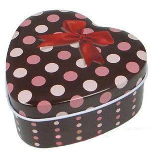 Polka Dot Mint Box