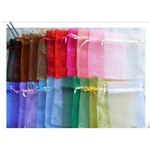 Single Colour Organza Bags (Various Sizes)