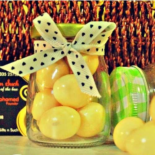 Bottled Premium Almond White Chocolate