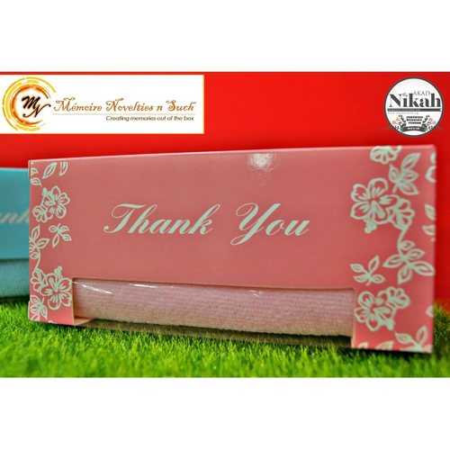 Fibre Towel in Thank You Box