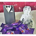 Bride & Groom Cadbury Strawberry Treat