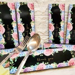 Fork & Spoon Floral Box