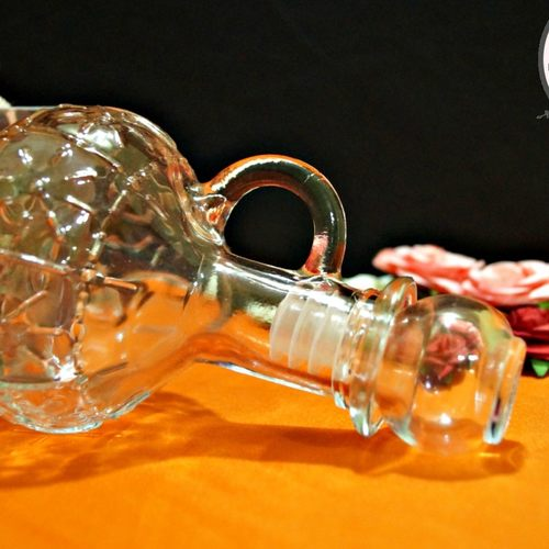Crystal Pitcher with Lid