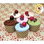 Fruity Cupcake Towel