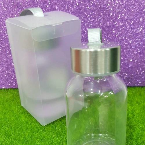 Clear Bottle with String & Box
