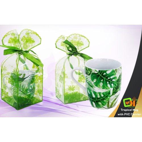 Tropical Mug with PVC Carrier