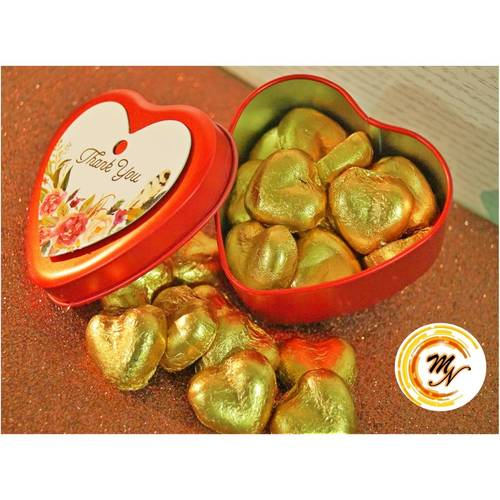 Hearts in Heart Chocolate Set