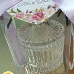 Top Lid Glass Bowl