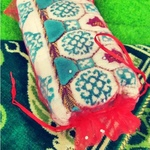 Turkish Sejadah in Organza Bag