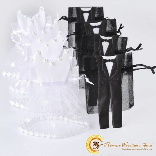 Bride & Groom Organza Bag