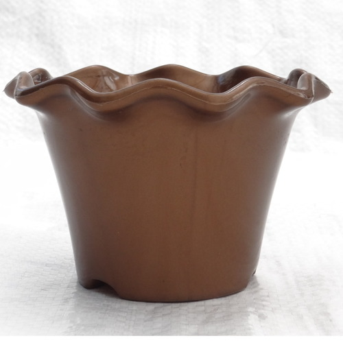 Blossom pot 110 mm - brown