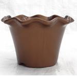 Blossom pot 110 mm - brown