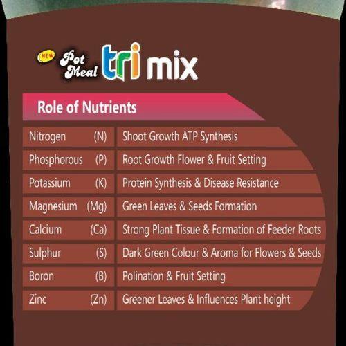 Trimix Pot meal - plant nutrition   500 gms