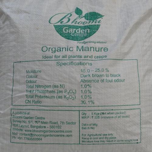 Bhoomi's Organic Manure - 5 KG