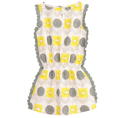Meeta Dress Yellow
