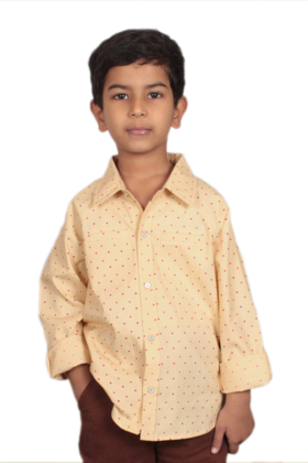 Boy's Cotton Printed Shirt