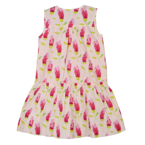 Mary Tulip Dress Pink