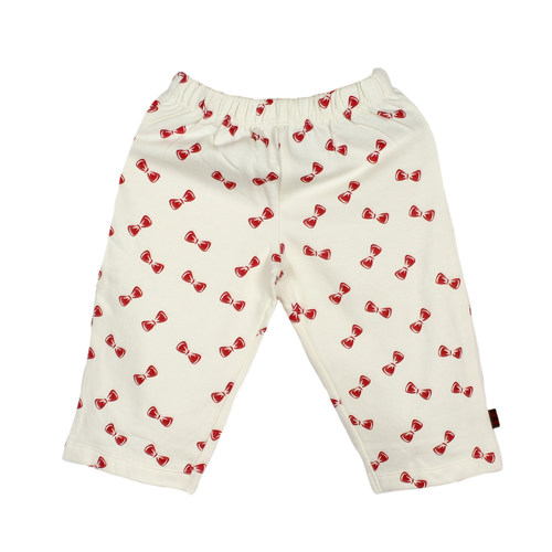 Bow PJ Off White