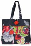 Black Floral Mama Bag