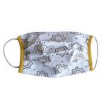 Square Printed Outdoor Face mask -  Set of 5