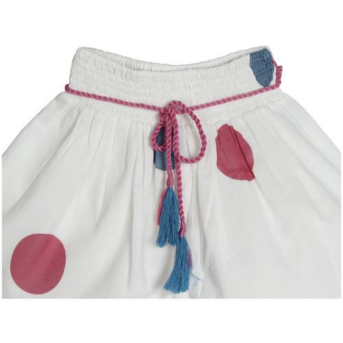 Anika polka shorts pinkblue