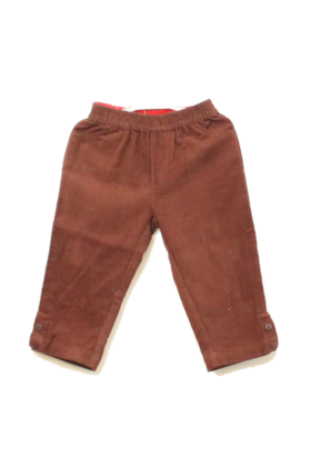 Infants Cord Pants Brown