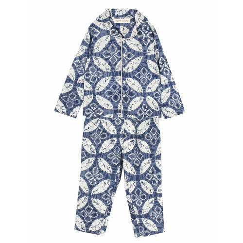 Silvy Night Suit Indigo