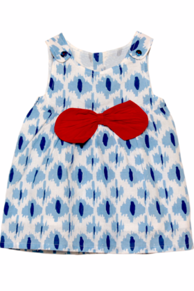 Baby Reeta Dress Indigo