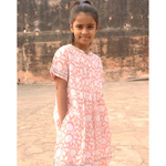 Sona Girl's Dress Pink