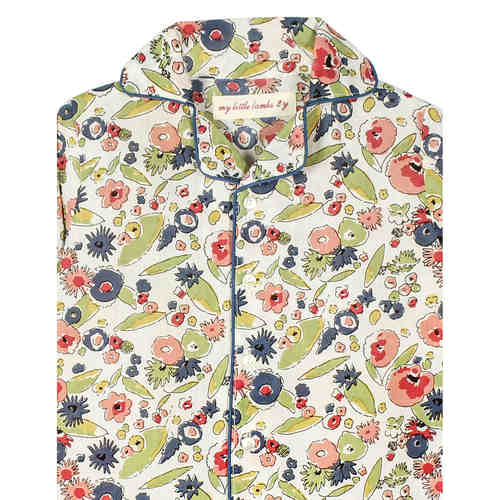 Floral Night Suit Multi