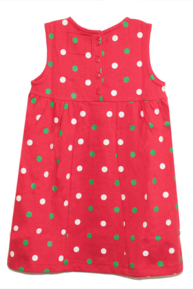 Dot Dress Red