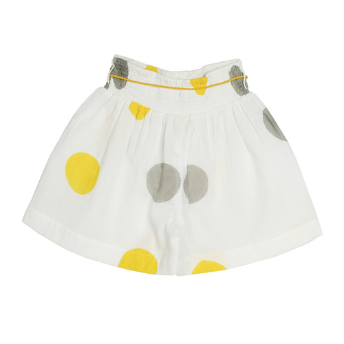 Anika polks shorts yellowgrey
