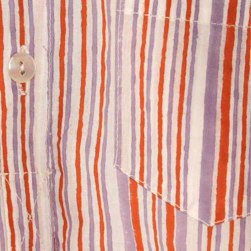Striped kurta PJ Set Purple