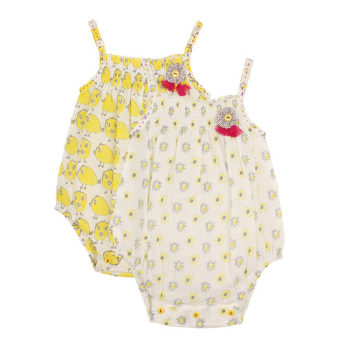 Chic Romper Set Chick and Florets
