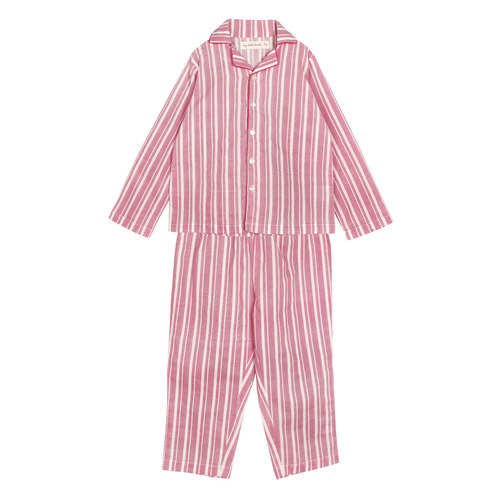 Zig Zag Stripe Pink Night Suite.