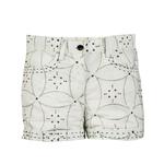 Moha Shorts - Big Flower- Green