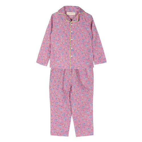 Liberty Night Suit Pink