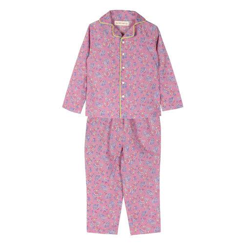 Liberty Night Suit Pink