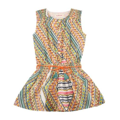 Nammy Girl's Dress Multi