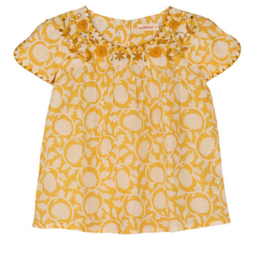 Sansa Girls Top Yellow